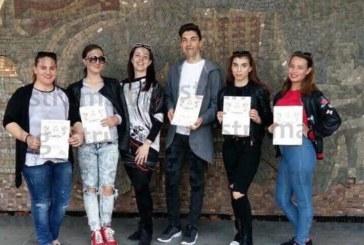 И гаф с озвучаването не попречи на благоевградски гимназисти да оберат овациите и наградите на фолклорен конкурс