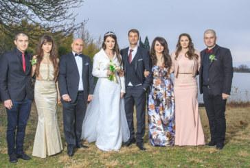 Любомира и Васил сключиха граждански брак пред 150 гости в Сандански и отлетяха за Америка