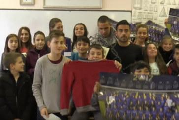 В НОВО АМПЛОА! Футболист от Г. Делчев изнесе открит урок пред ученици