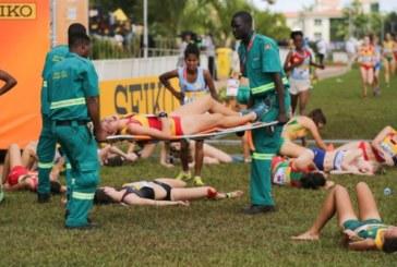 Атлетки колабираха масово след финал