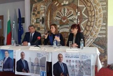 Николина Ангелкова в Гоце Делчев: ГЕРБ е единствената партия, която обръща внимание на туризма
