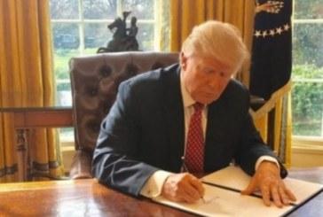 Извънредна новина от Вашингтон! Тръмп подписа исторически документ, който ще промени всичко! (СНИМКА)