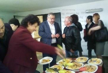 Новоизбраният депутат Ив. Константинов даде прощален коктейл като ОбС председател за колегите в Дупница