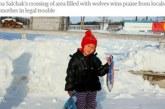 4-г. дете измина километри в студа, за да спаси баба си