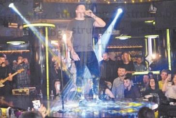 """Сръбската звезда Амар Гиле сътвори незабравим спектакъл за феновете си в """"The Face"""""""