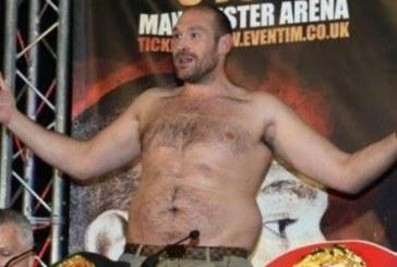 Тайсън Фюри: Тежа 160 кг, но това не е проблем!