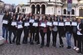 Ученички от Икономиката с две първи награди от конкурс за театър на испански