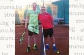 Петричкият съдия Атанас Кобуров обяви края на тягостната зима и откри тенис сезона