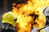 Лек автомобил горя в Лешница, още два пожара в Пиринско
