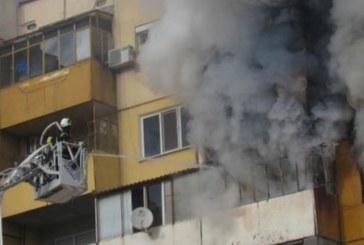 Апартамент и кола избухнаха в пламъци в София, има пострадал