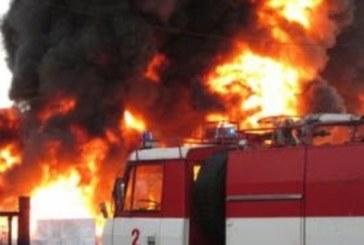 ТРАГЕДИЯ! Мъж изгоря жив в пожар заради бурени