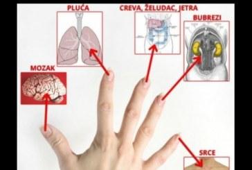 Всеки един от вашите пръсти е свързан с 2 ваши органа и може да бъде излекуван само за 3 минути