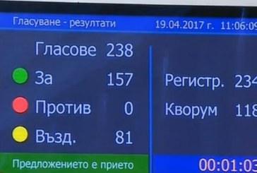 Димитър Главчев е новият  председател на парламента