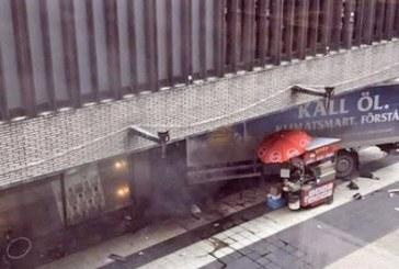 Опровергаха информацията, че е задържан шофьорът на камиона в Стокхолм