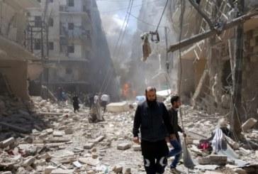Ужасът в Сирия няма край! Пак удариха град Хан Шейхун, но този път по въздух