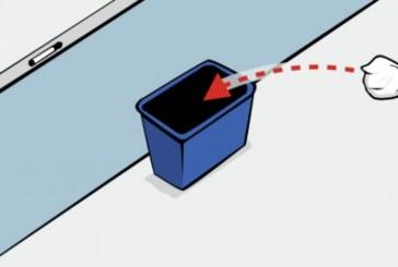 Откриха най-добрия начин да уцелим кошчето за боклук
