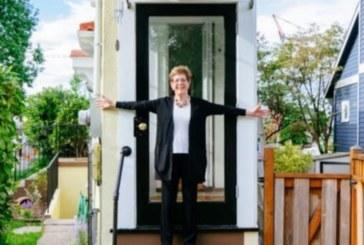 Жена построи необикновена къща, широка един метър, за да отмъсти на мъжа си!