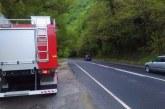 Разлив на нафта на Е-79! Пътят през Кресна опасен