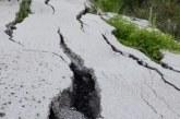 Шофирайте внимателно! Свлачище на пътя край Кюстендил