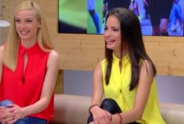 Русокоска и брюнетка вдигат адреналина на футболистите и феновете в Симитли