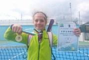 9-годишната Ива Иванова е номер 1 в Благоевград на тенис
