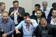 15 души са обвинени за инцидента в македонския парламент