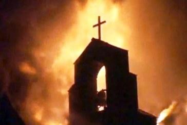 Разследват пожар в най-нашумялата църква в България
