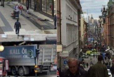 ИЗВЪНРЕДНО! Ужасът в Стокхолм продължава! Пожар избухна в търговския център, където се вряза камионът-убиец, по улиците лежат ранени – гледайте НА ЖИВО