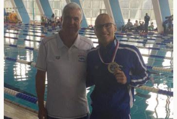 """Плувец на """"Вихрен"""" стана първият българин, слязъл под 53 сек. на 100 м бътерфлай"""