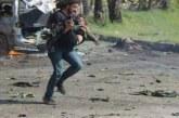 Сирийски фотограф захвърли оборудването си, за да спаси дете! Кадрите трогнаха хората по света