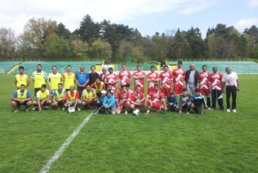Ергени и женени спретнаха футболно шоу в Гоце Делчев