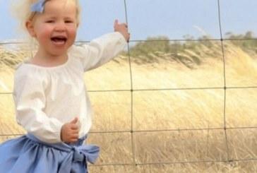 Ужасяващ кадър: Майка засне момиченцето си на сантиметри от смъртта