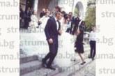 Бившият футболист на Пирин /ГД/ Сл. Шоколаров вдигна сватба с любимата си Кристина, младоженците се похвалиха, че скоро очакват момиче
