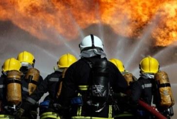 Огнеборците на крак в Петрич! Незагасена цигара подпали апартамент