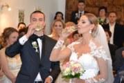 """Заместник-кметът Христина Шопова бракосъчета влюбена двойка от ансамбъл """"Пирин"""""""