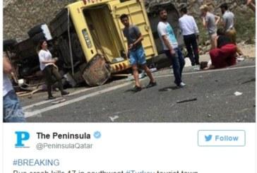 Броят на загиналите при катастрофата в Турция расте, няма чужденци