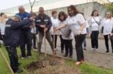 60 дръвчета за 60-годишнината на ВиК – Благоевград засадиха служители от всички поделения на дружеството