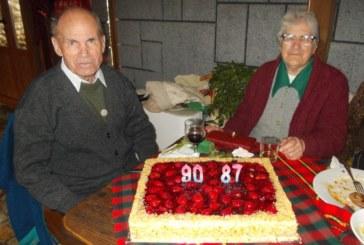 ТОЙ НА 90, ТЯ НА 87 Г.! Благоевградски подполковник и жена му честваха рождените си дни в родното им с. Годлево