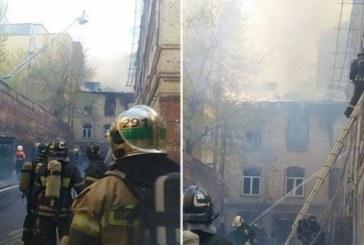 ЧУДОВИЩЕН ПОЖАР В МОСКВА! Спират транспорта, евакуират цял квартал