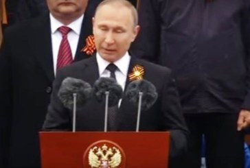 Путин на грандиозния парад в Москва: Никой не може да победи Русия! Вижте уникално видео!