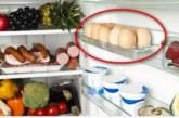 Яйцата нямат място на вратата на хладилника