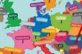 СКАНДАЛ! Карта на Европа в учебник по испански сравнява България с мафия (СНИМКА)