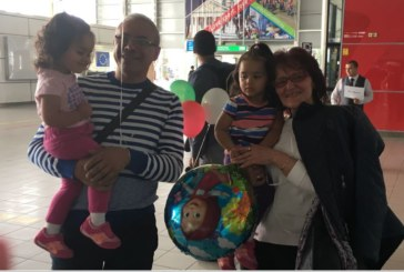 Живеещата в САЩ Р. Воденичарова доведе съпруга си Лео и 2-г. им дъщери на традиционната родова среща