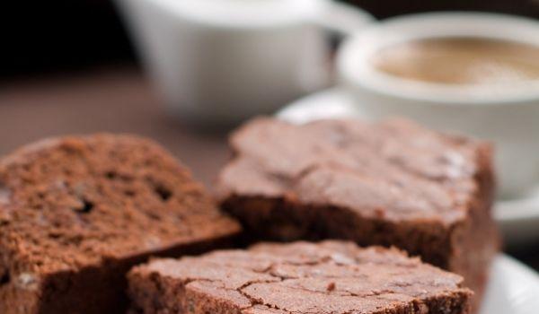 Брауни с кафе