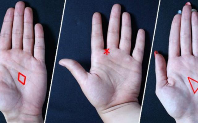 Погледни внимателно дланта си: Триъгълник, ромб или звезда виждаш? В тях е скрита загадката на съдбата ти!