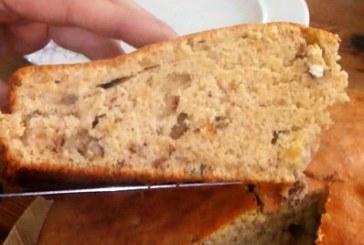 Бърз кекс с канела и орехи