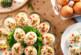 Пълнени яйца с авокадо и бекон