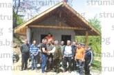 Ловците от Раздол сефтосаха новата си хижа, преизбраха за председател З. Захариев