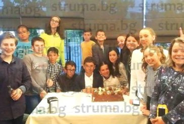 Благоевградската плувна надежда отпразнува рожден ден