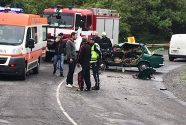 Страшни снимки от катастрофата на пътя Обзор – Бургас! Ладата е смляна до неузнаваемост